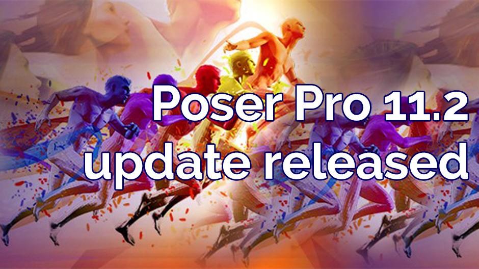 Poser Pro 11.2 update