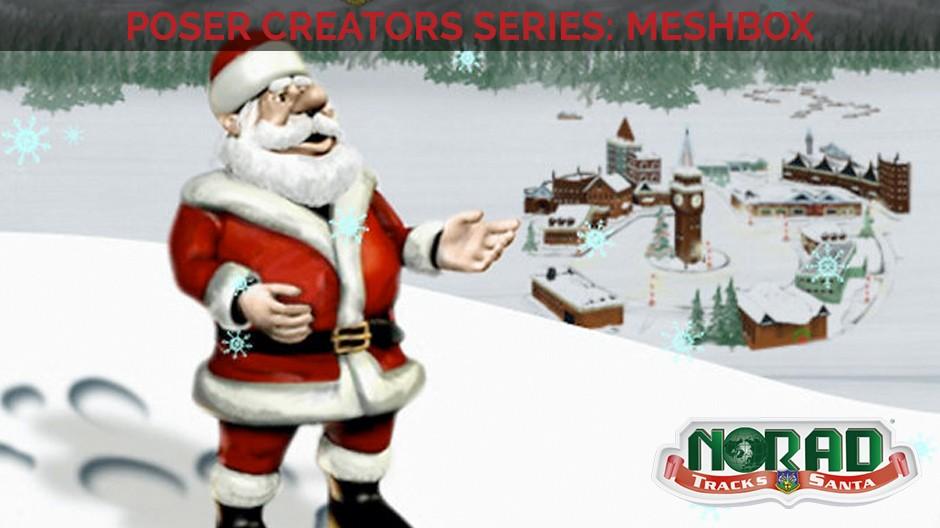 Tracking Santa with Meshbox Designs