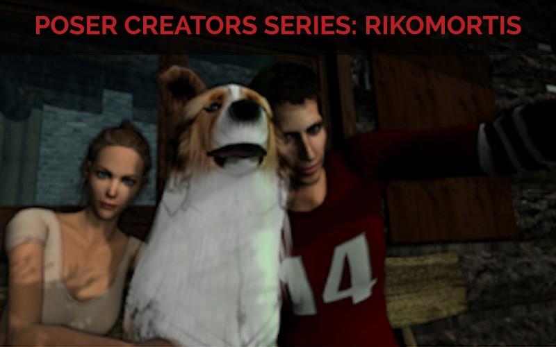Poser Creator Series with Rikomortis, aka, James Parsons