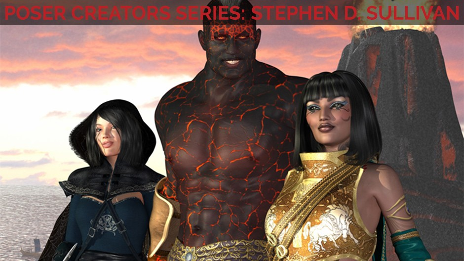 Bringing fantasy to life with Stephen D. Sullivan
