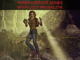 Poser Creator Series with Lizzie Prusaczyk
